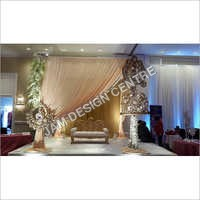 Indian Wedding Cloth Mandap Service