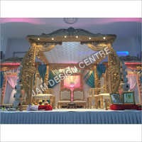 Indoor Wedding Mandap Decoration Service