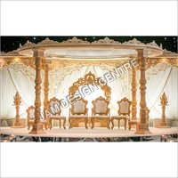 Palace Theme Wedding Mandap Decoration Service