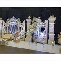 Decorative Wedding Garden Stage Service