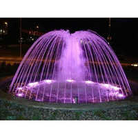 Ring Fountain with LED Lights