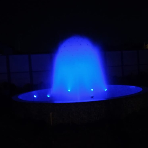 Ball Fountain with LED Lights