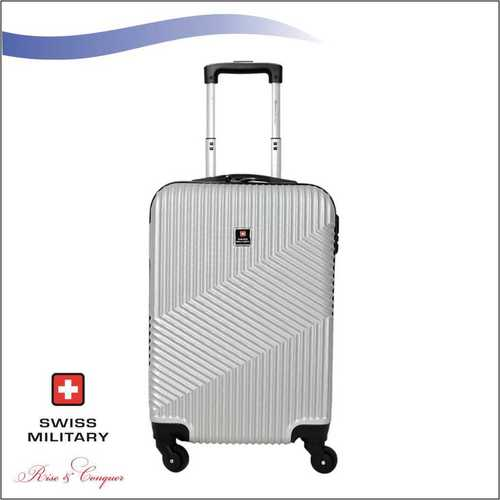 Swiss Military ABS Material Silver Colour 20 Inch (HTL32)