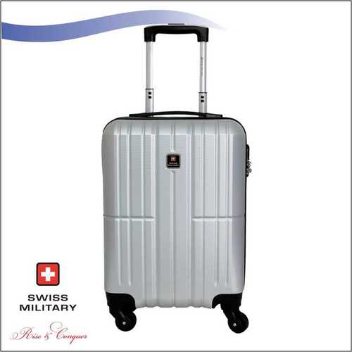 Swiss Military ABS Material Silver Colour 18 Inch (HTL35)