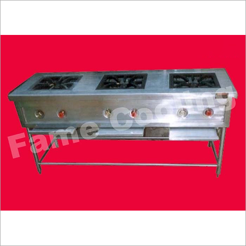 Commercial 3 Stove Gas Burner