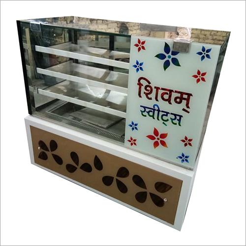 4 Shelves Sweet Display Counter