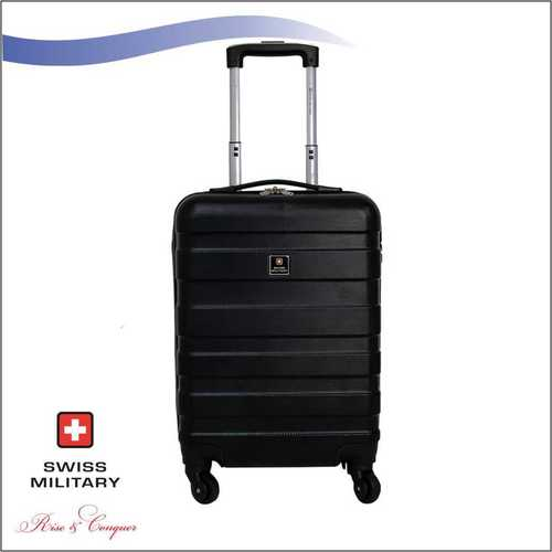 Swiss Military ABS Material Black Colour 18 Inch (HTL34)