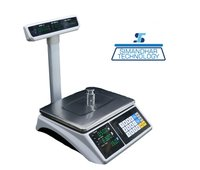Digital Price Computing With Pole And Touch Screen Scale 6/15/30 Kg