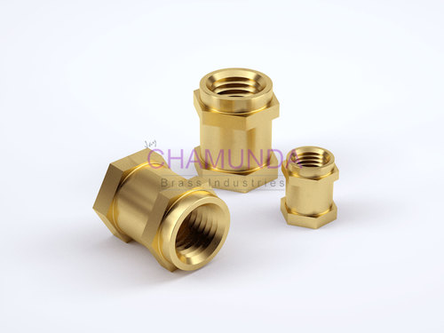 Brass Double Hex Inserts