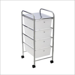 4 Drawer Storage Trolley