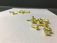 Decorative Brass Screws