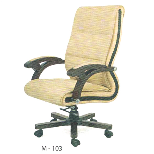 M 103 Movable Leather Chair