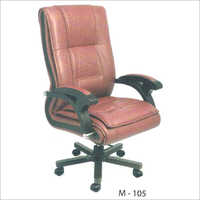 M 105 High Back Leather Chair