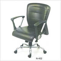 Nu Lite Series Plain Leather Chair