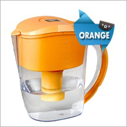 Orange Alkaline Water Jug