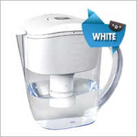 White Alkaline Water Jug
