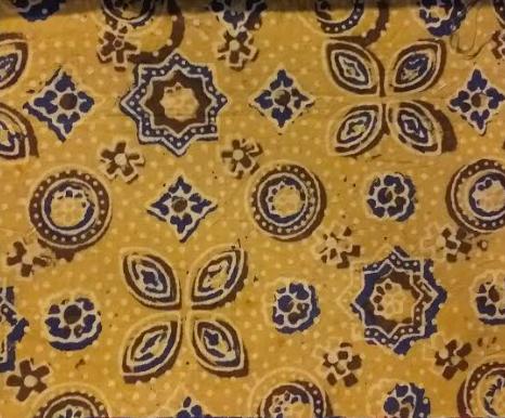 Ajrak Raw Cotton Fabric