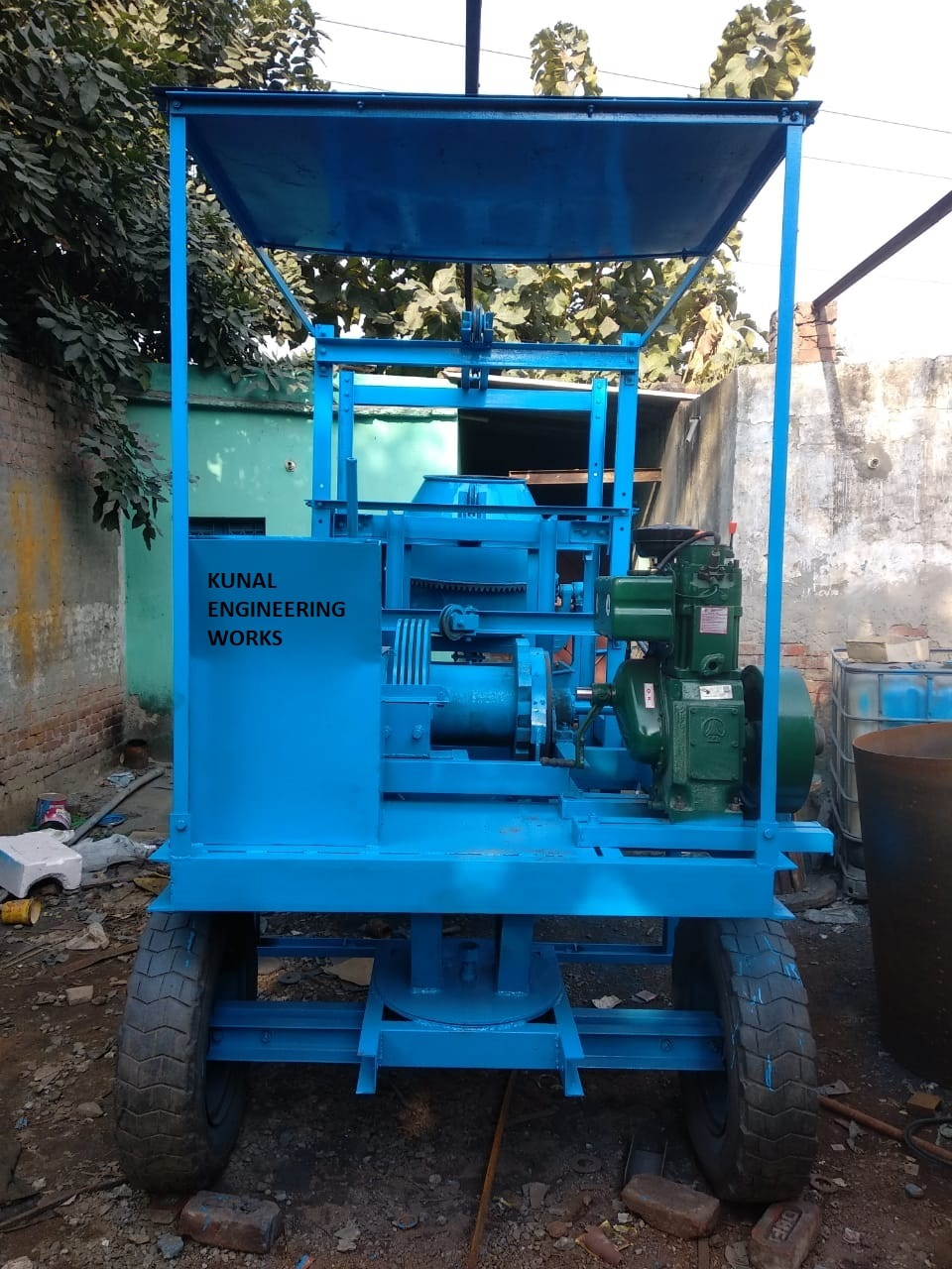 Concrete Lift Mixer With Four Leg