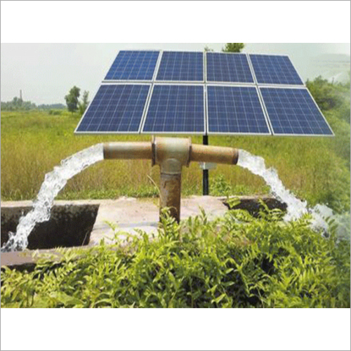 Automatic Solar Water Pump