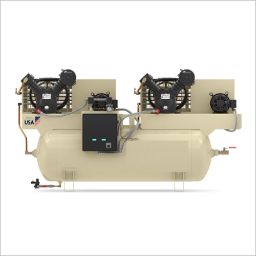 Double Motor Reciprocating Air Compressor