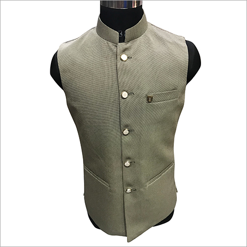 Casual Plain Nehru Jacket