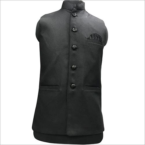 Men Long Plain Nehru Jacket