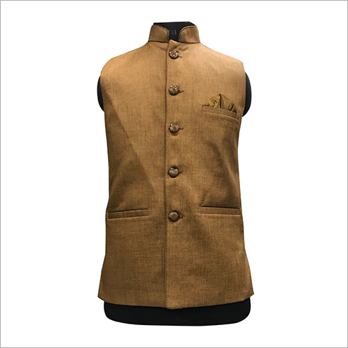 Mens Formal Plain Nehru Jacket