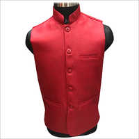 Fancy Plain Nehru Jacket