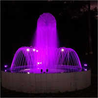 Dandelion With Arching Jet Outdoor Fountain