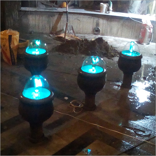 Bell Nozzle Outdoor Fountain