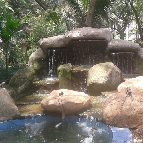 Rock Waterfall Fountain