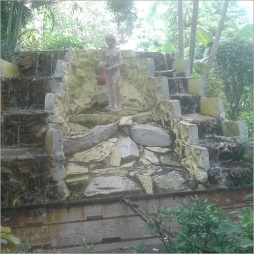 Backyard Waterfall Fountain