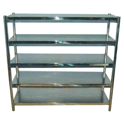 Stainless Steel Free Standing Vegetable Rack