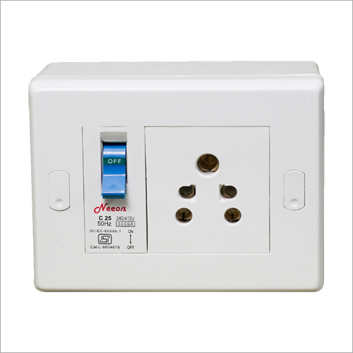 Socket With Mcb