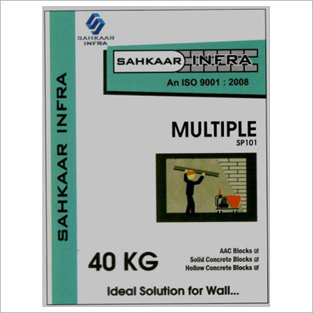 Multiple Ready Mix Plaster
