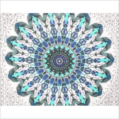 Flower Ombre Mandala Wall Tapestry