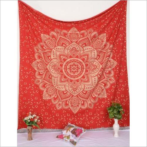 Designer Mandala Print Wall Tapestry