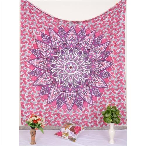 Mandala Print Wall Tapestry