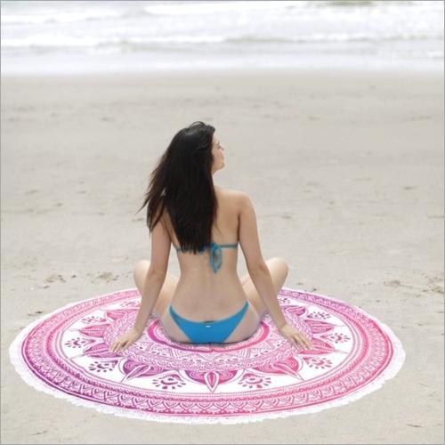 Round Beach Throw