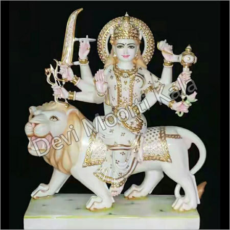 Marble Devi ji Statue
