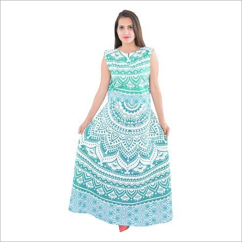 Mandala Jaipuri Cotton Dress