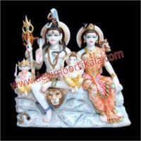 Marble Mahadev Idol