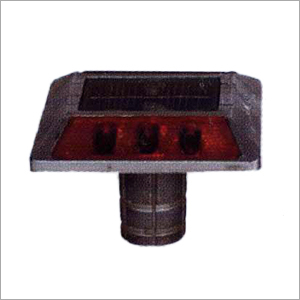 Aluminium Alloy & Polycarbonated Solar Stud With Shank