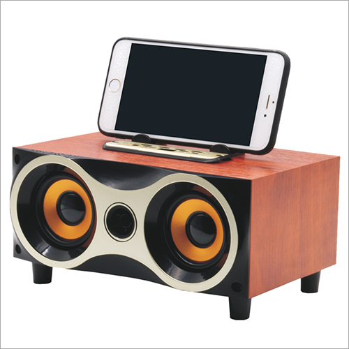 Desktop Portable Wooden Wireless Speaker