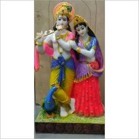 Lord Marble Powder Radha Krishna Statues