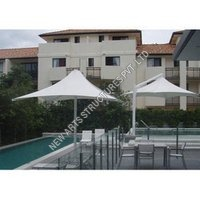 Swimming Pool Tensile Umbrella