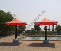 Outdoor Swimming Pool Tensile Umbrella