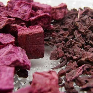 Dehydrated Beetroot Cube