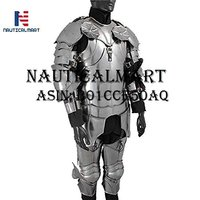 NauticalMart LARP Suit Of Armor- Gothic wearable Suit Of Armor