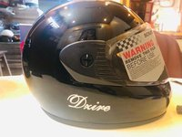 Full Face PC Visor Helmet
